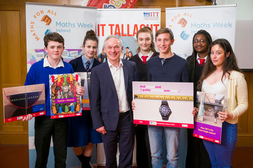 Minister Launches Maths Eyes Prize Giving 2017 Celebrations